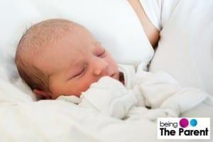 New-born baby sleeping