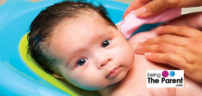 Newborn hair wash