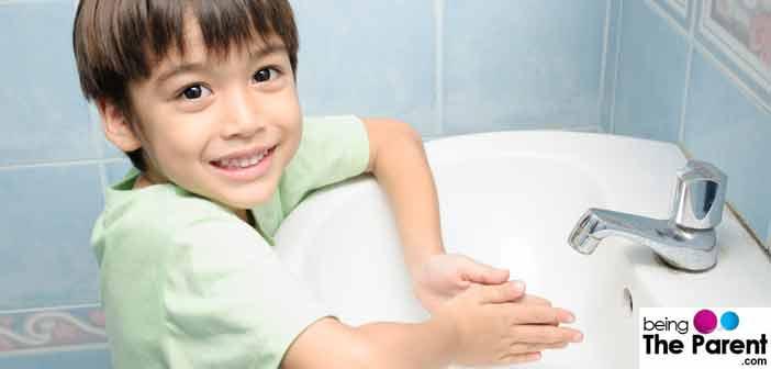 Children and handwashing