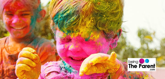 Playing a safe holi