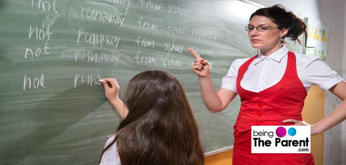 A strict Teacher