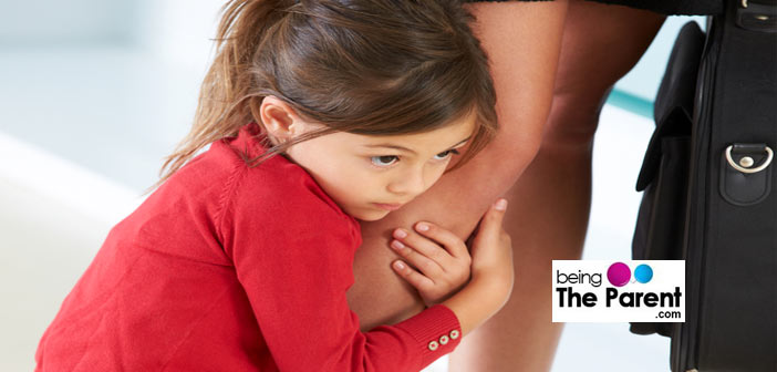 Coping with a clingy toddler