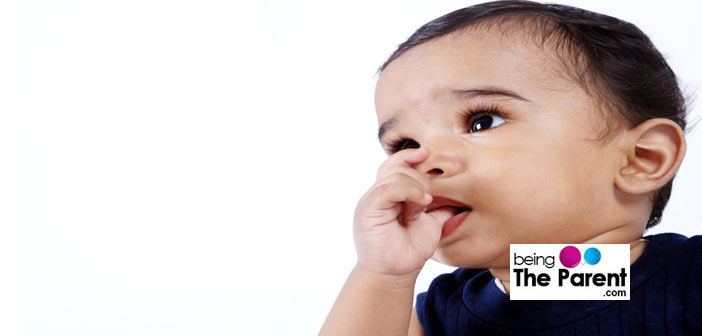 Why do babies suck?