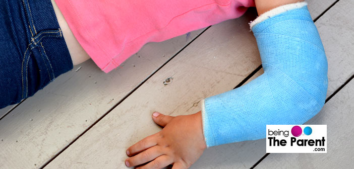 Elbow fracture in a child