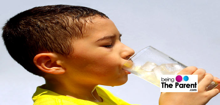 Keep your child hydrated