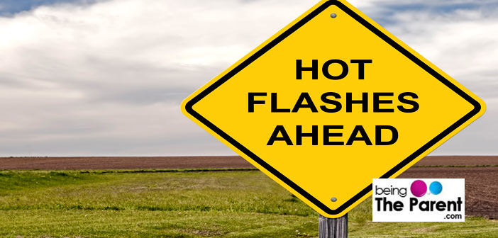 Hot flashes and pregnancy