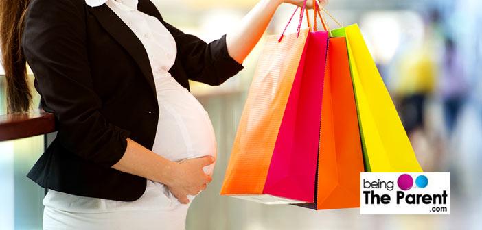 Maternity wear shopping