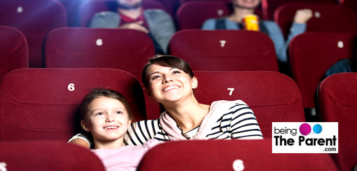 Mother and daughter in theatre