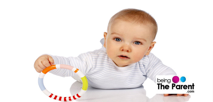 Baby grasping toys