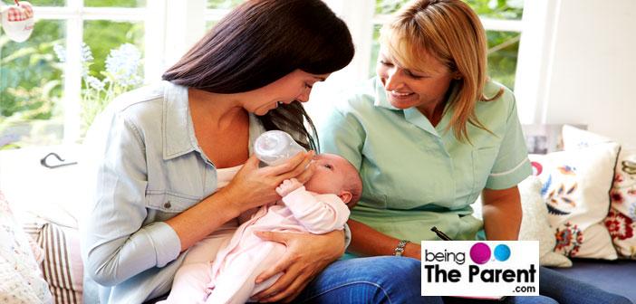 Newborn baby visitors