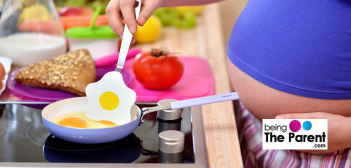 Eggs during pregnancy