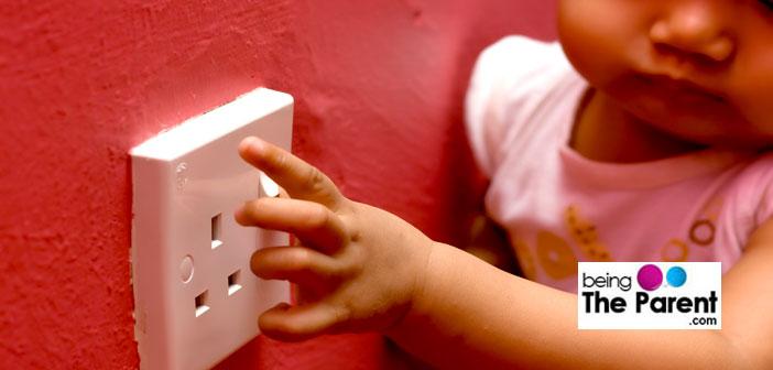 Electric shock in children