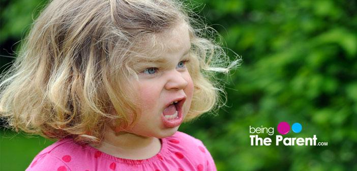 Toddler swearing