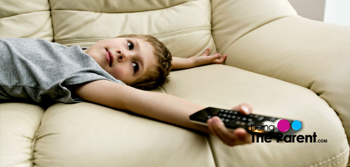Child Watches TV