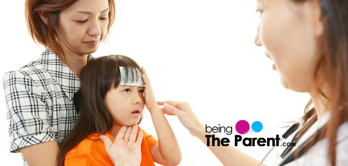 Child with pediatrician