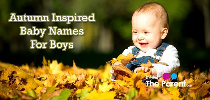 Autumn boys names