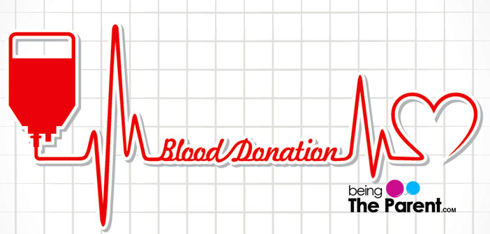 Blood donation during pregnancy