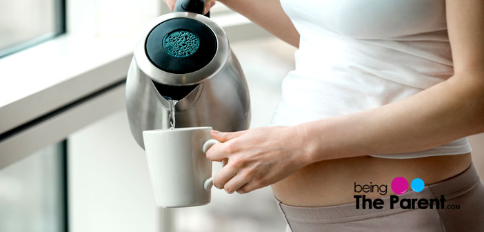Decaf tea in pregnancy