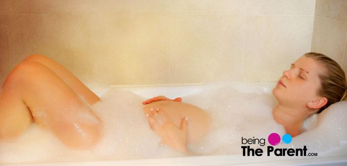 Hot tub in pregnancy