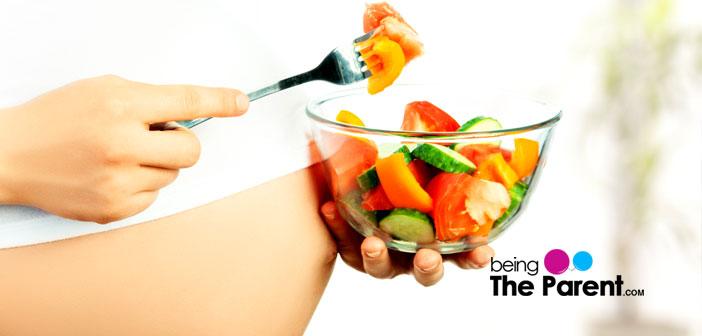 pregnancy healthy salad