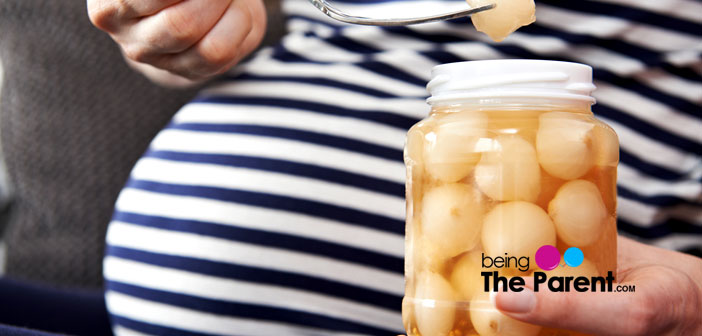 Pickles during pregnancy
