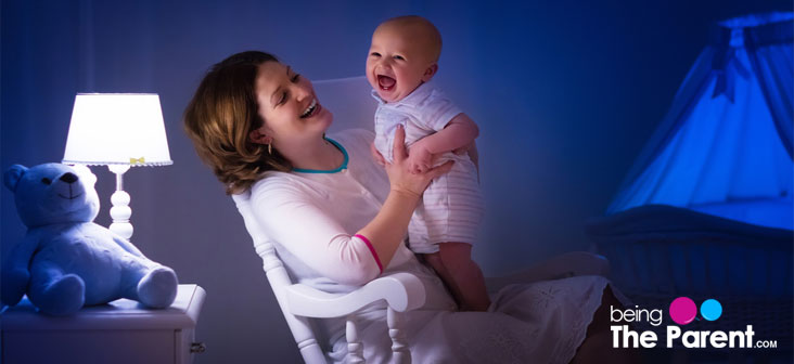 mother singing lullaby