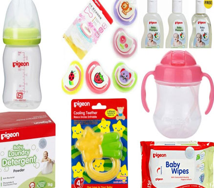 pigeon baby products brands
