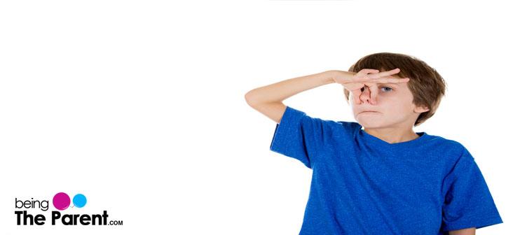 body odour in kids