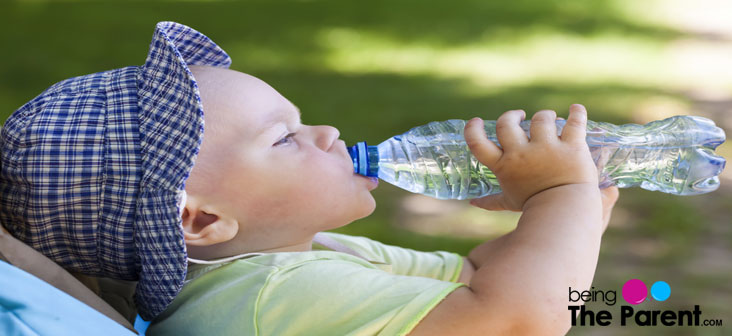 bottled water for babies