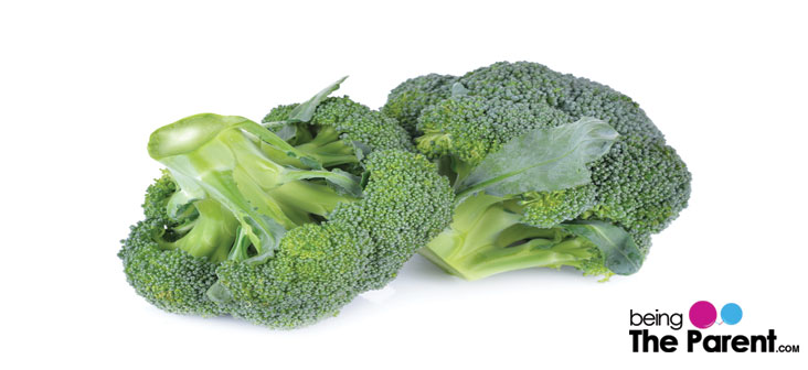 broccoli food to relieve constipation in babies