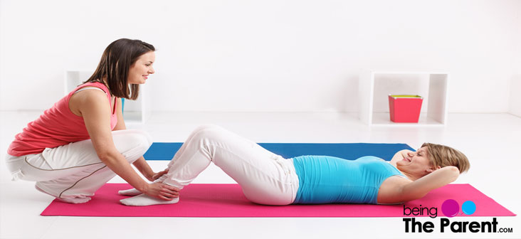 sit ups and pregnancy