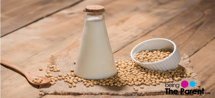 soy milk allergy
