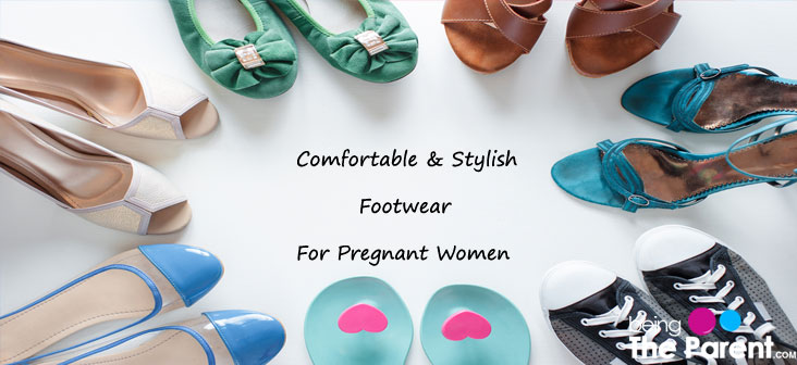 footwear for pregnant woman