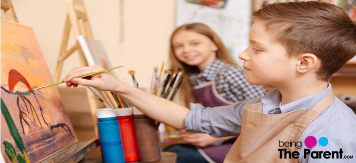 hobby classes for kids abov