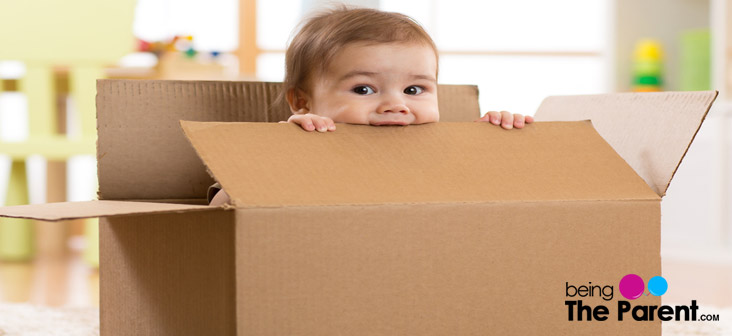 baby in a box