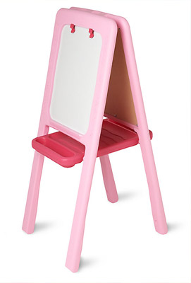 painting set with easel