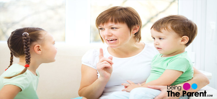 saying no to your child