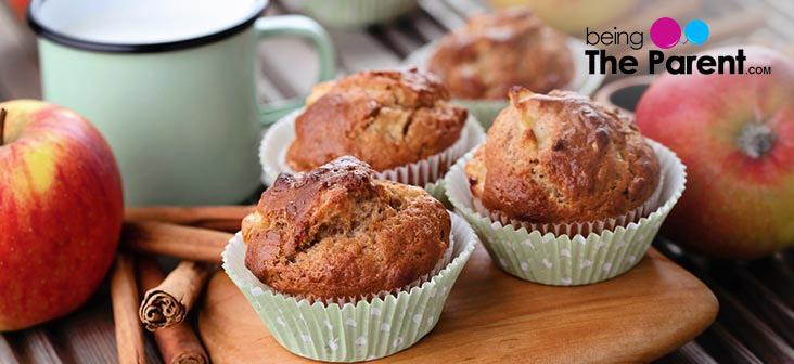 apple and cinnamn cupcake