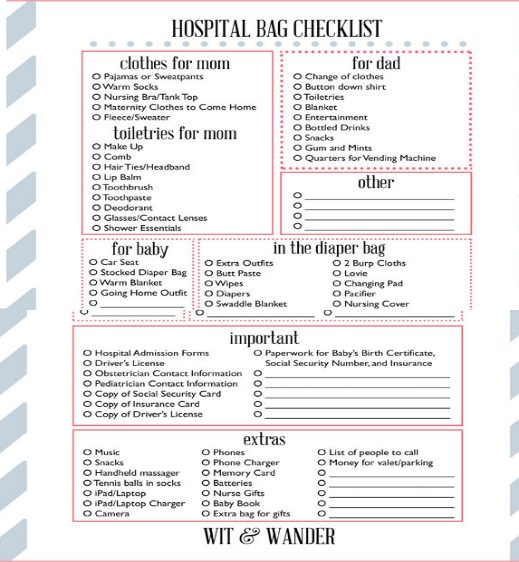 hospital-bag-checklist