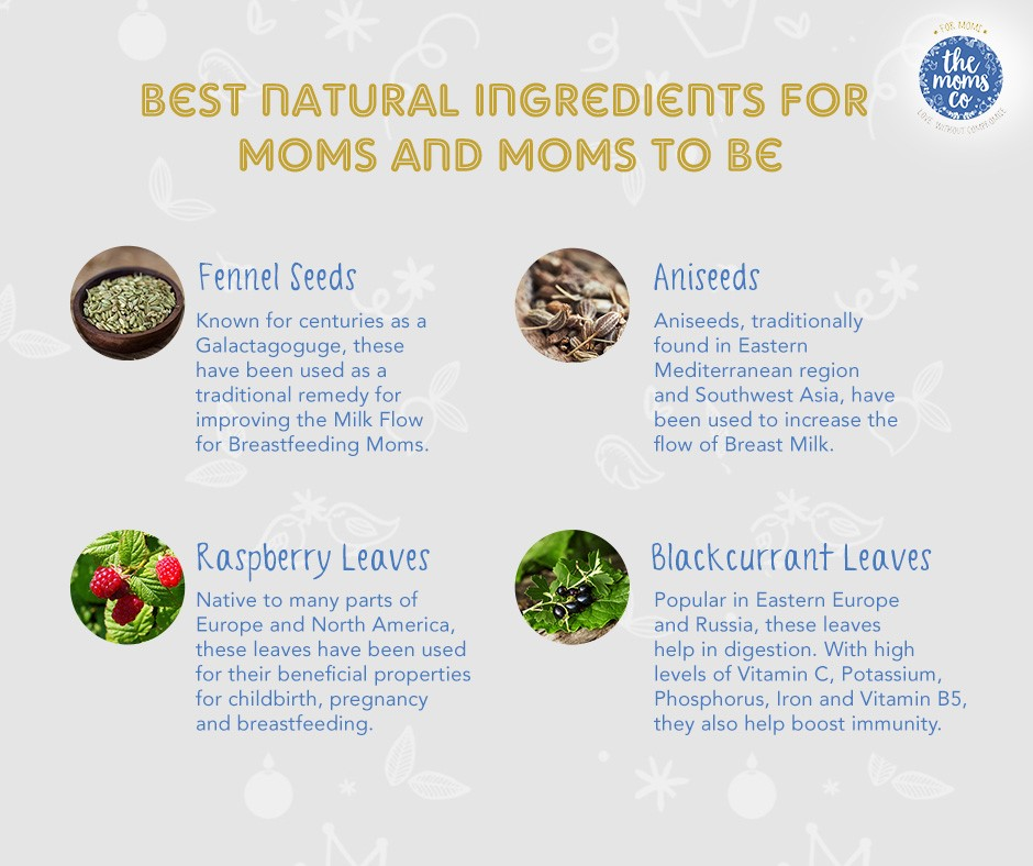 natural ingredients for moms