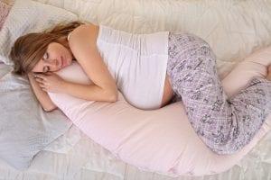 pregnant women sleeping