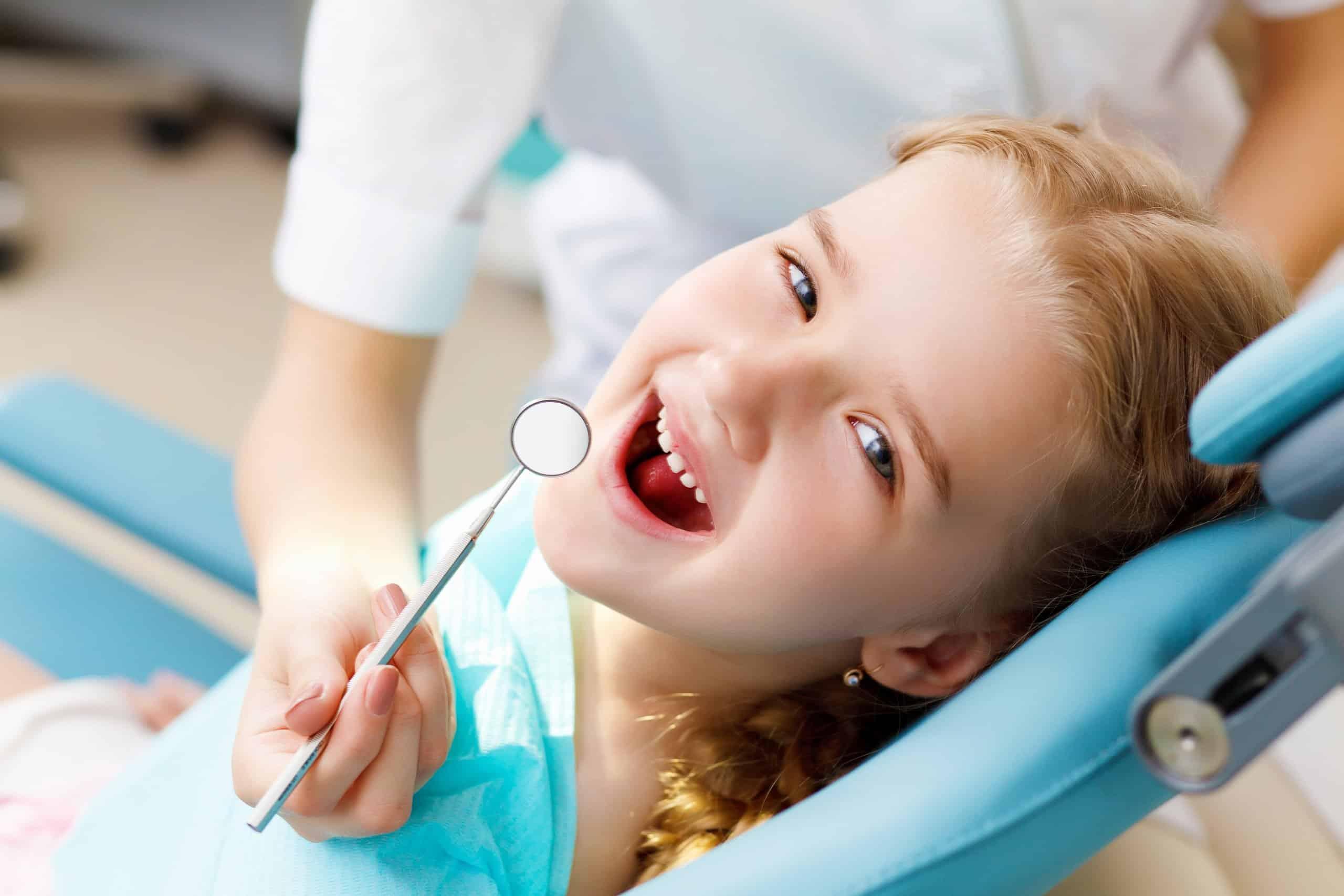girl dentist