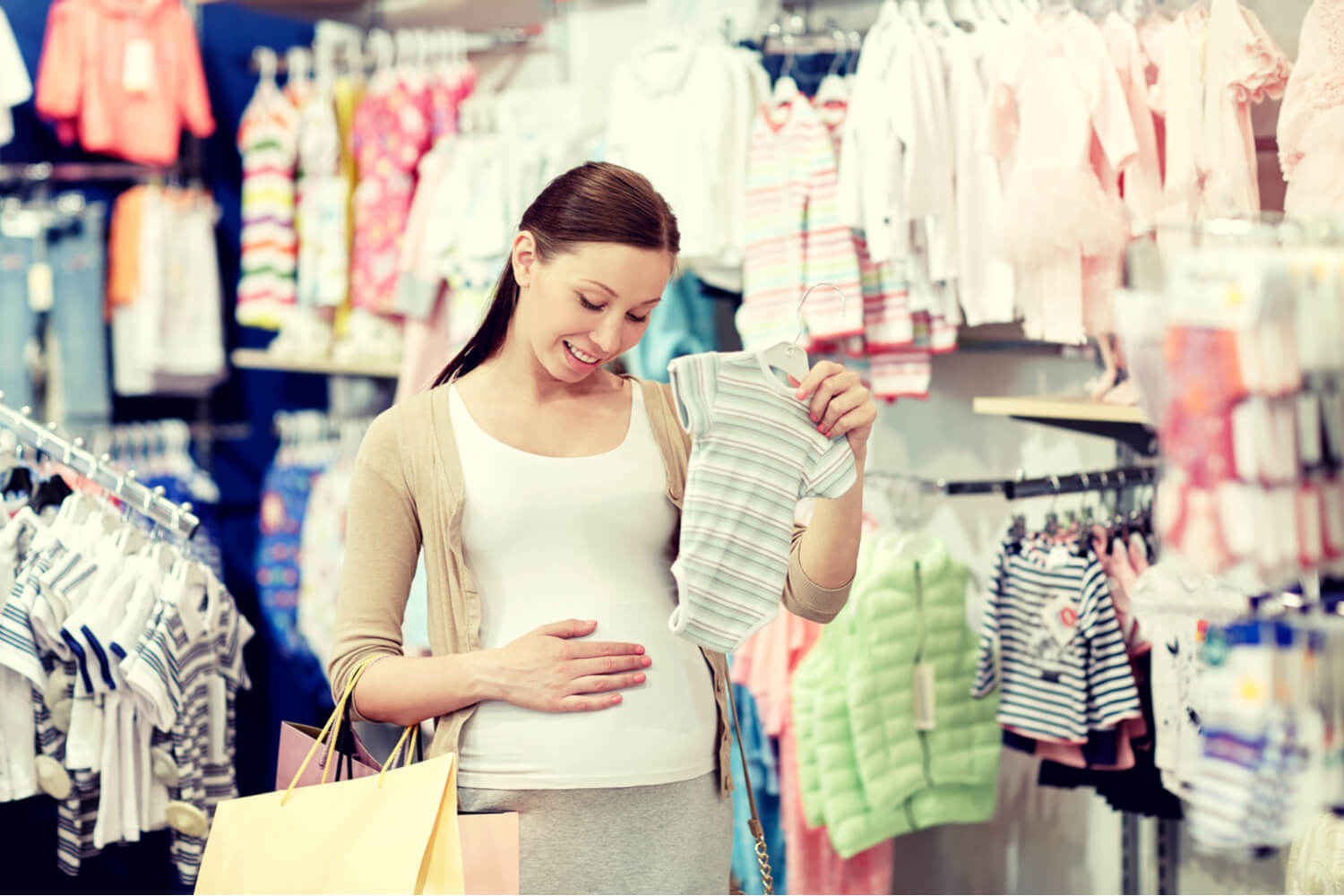Buying baby clothes in advance
