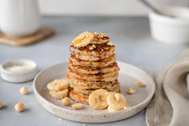 gulten free banana pancake