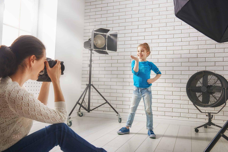 model shoot of kid