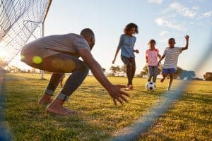 kids active during school holidays