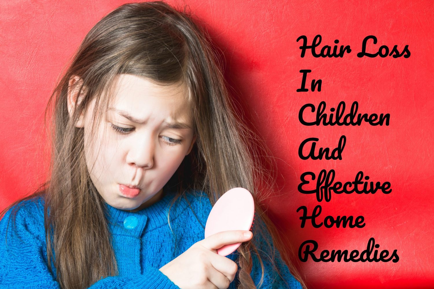 Hair Loss In Children And Effective Home Remedies