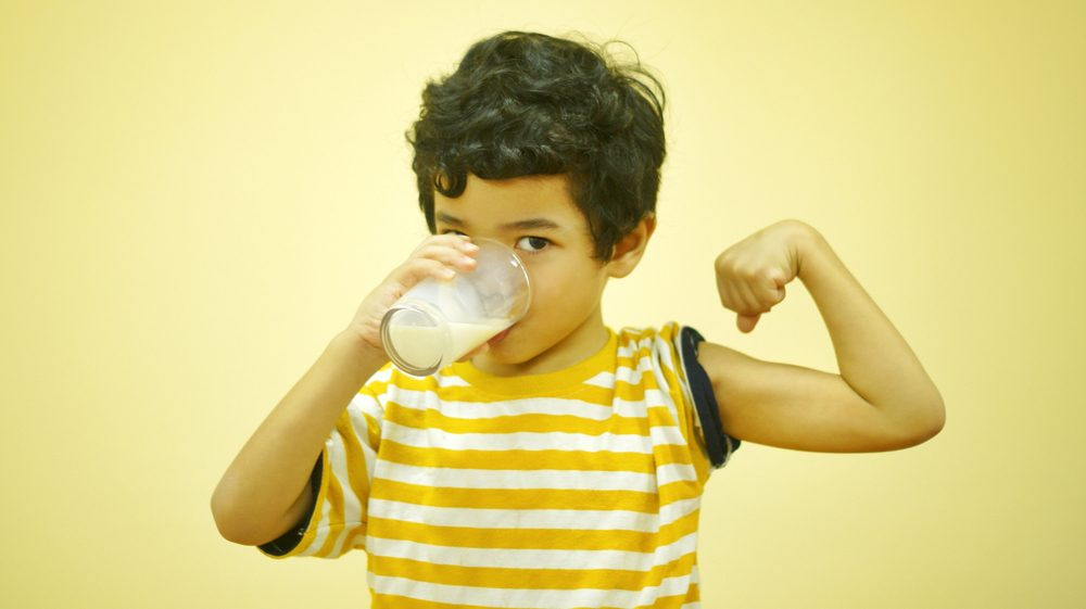 whey protein for kid