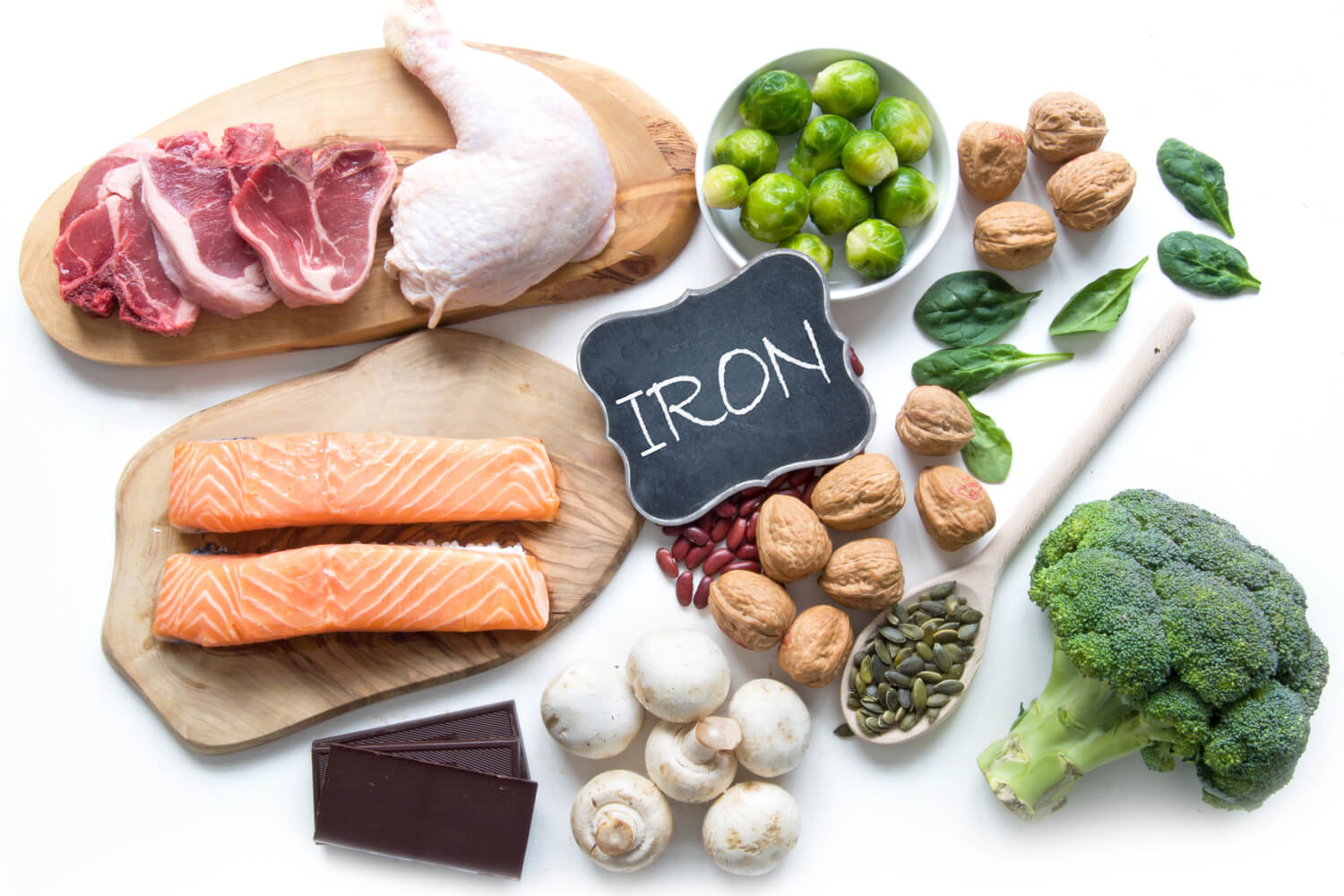 iron rich food items
