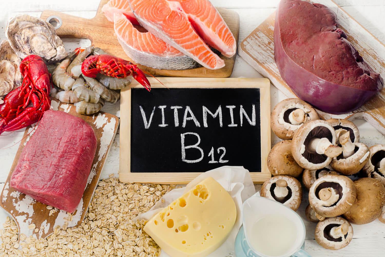 food rich in Vitamin B12